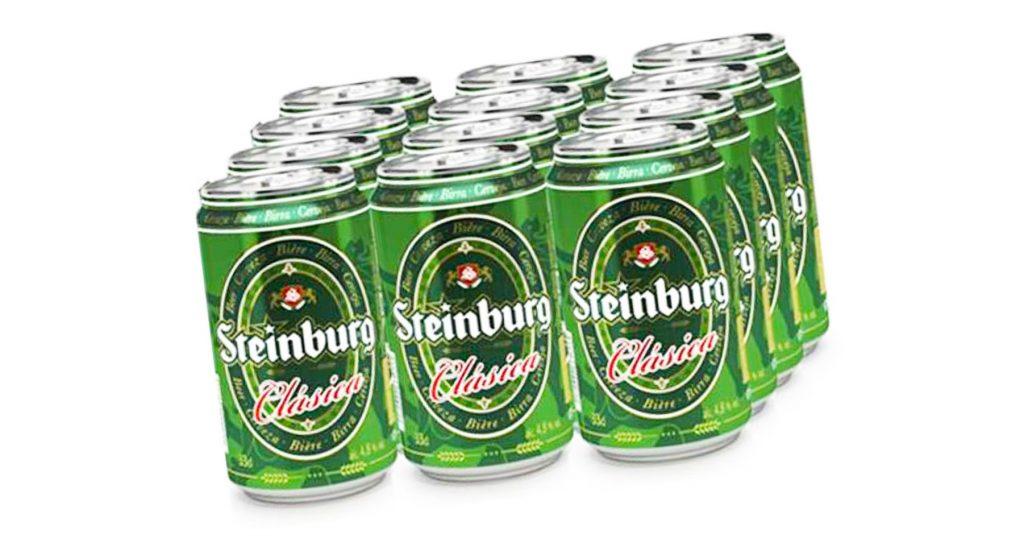 Cerveza Steinburg de Mercadona
