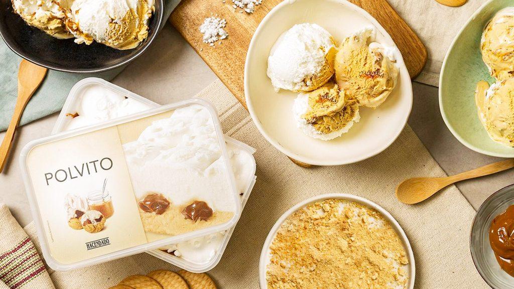 mejores helados mercadona helado polvito